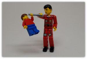 Bigger LEGO Figures: Taller than Four Bricks