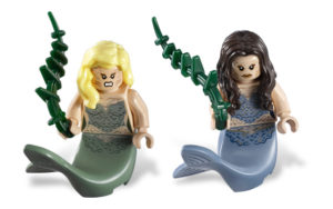 lego monsters: mermaids
