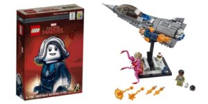 sdcc exclusive lego captain marvel