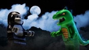 Myths & Minifigs: LEGO Godzilla and King Kong?