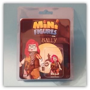 blister pack display of a minifigure