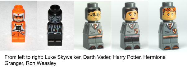 lego microfigures