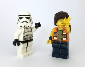 Collecting LEGO minifigures - not so rare Stormtrooper