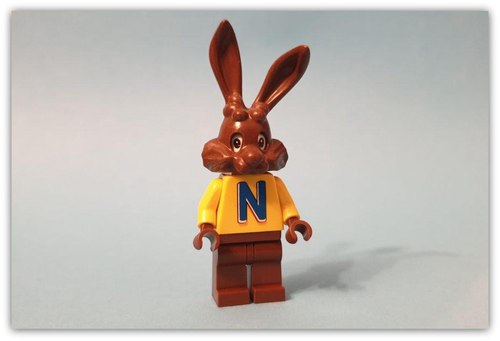 Non-lego figures: Quicky the Nesquick Bunny