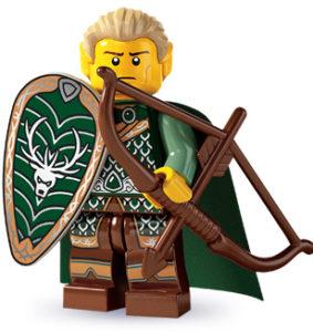 Lego elves elf minifigure