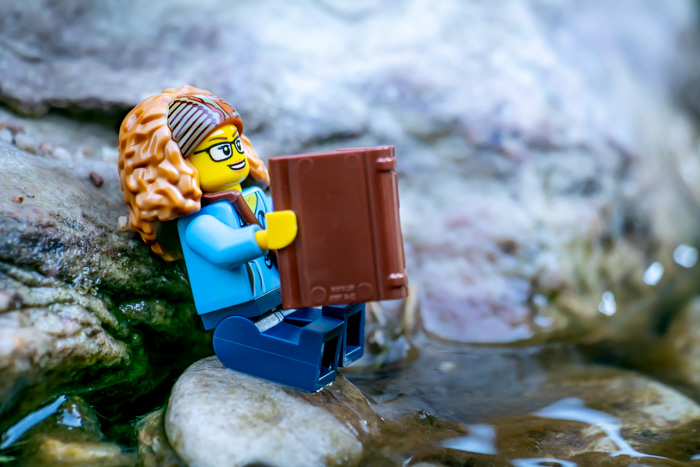 Traveling with LEGO minifigures: My Signature Minifigure by Teddi Deppner @mightysmallstories