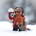 A dwarf and his coffee by Teddi Deppner @mightysmallstories