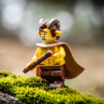 Traveling with LEGO Minifigures