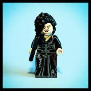 which harry potter minifigures are rare: bellatrix lestrange