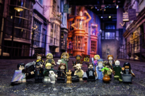 which harry potter minifigures are rare: harry potter cmf series