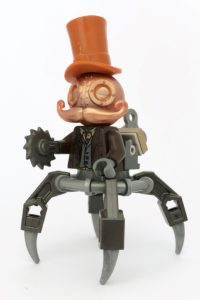 steampunk lego mechtorian