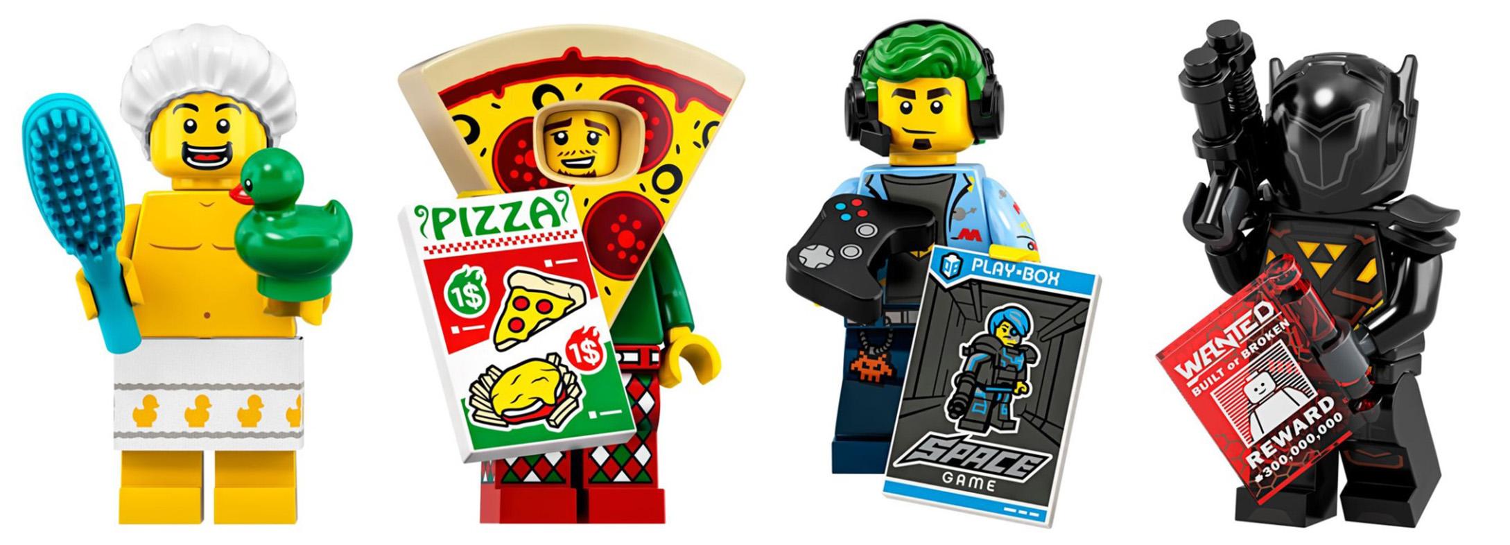Little Boy no 2 Lego City Mini figure Black Hair Astronaut T-shirt