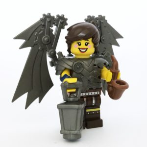 custom steampunk lego minifigure