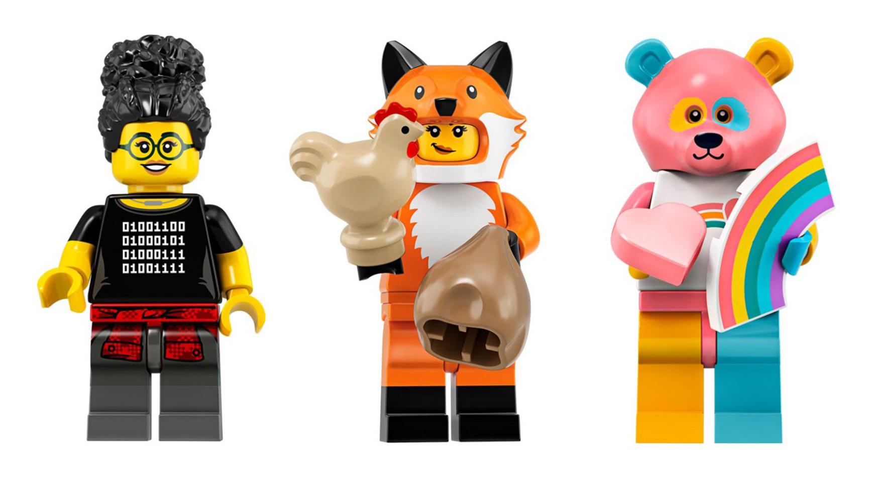 Minifigures Lego Animal Mini Figureaccessory Multiple