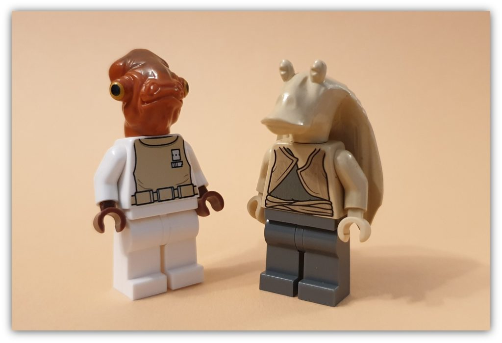 collecting lego figures: Star Wars