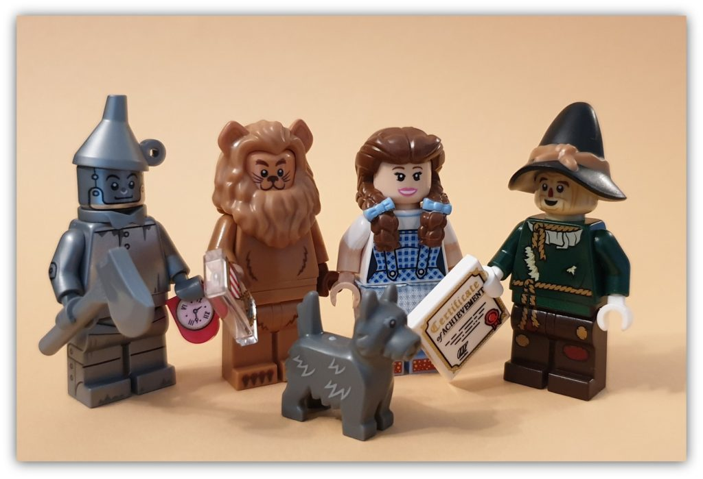 collecting lego figures: Wizard of Oz