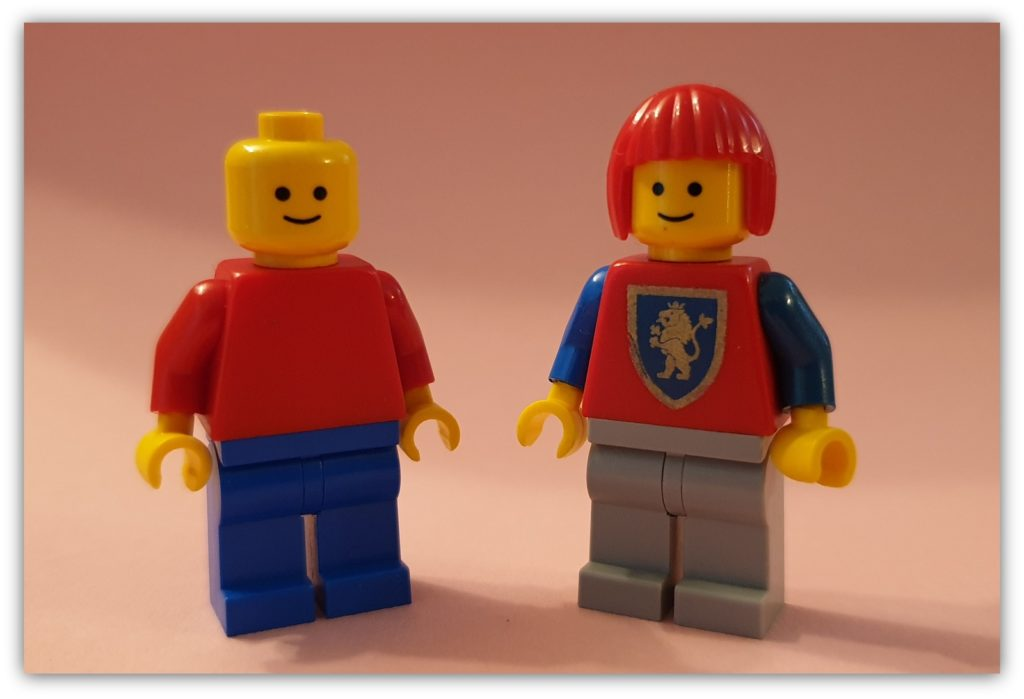 diversity in LEGO: boy or girl?