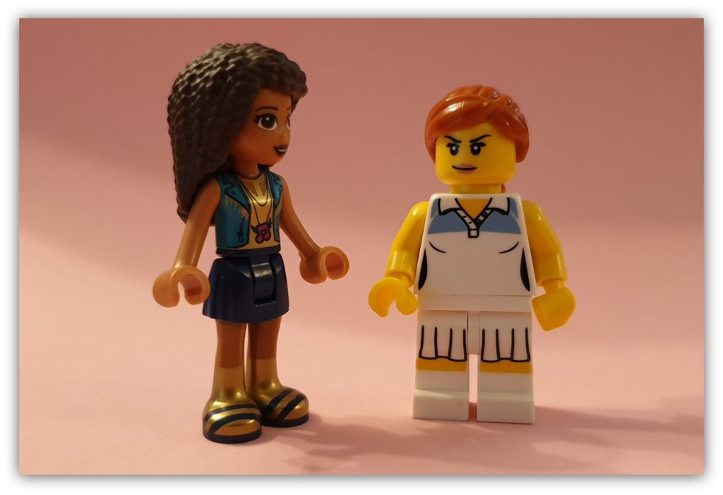 diversity in LEGO: minidoll and minifigure