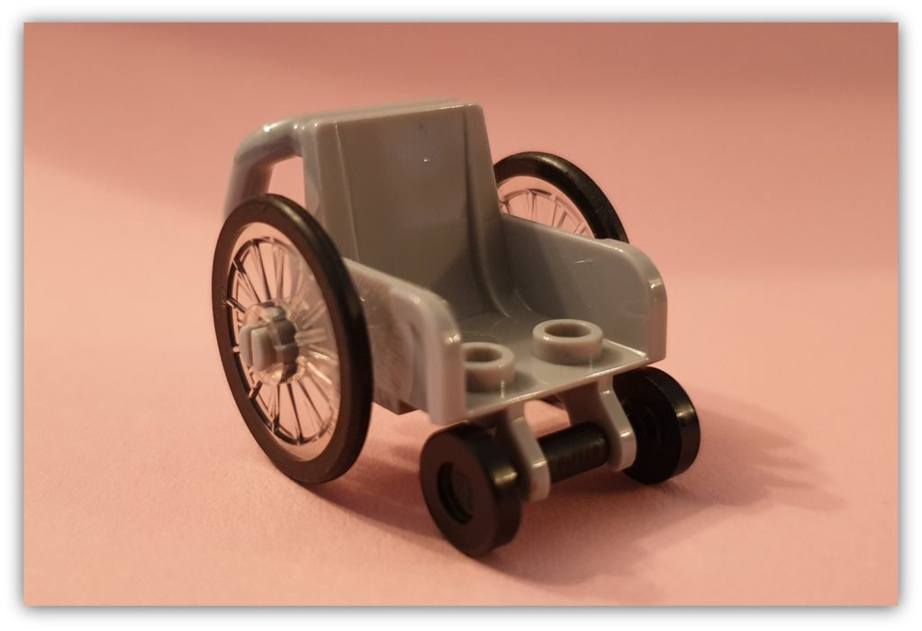 diversity in LEGO: the disabled