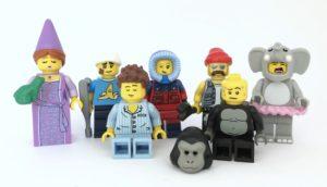 collectible minifigure faces