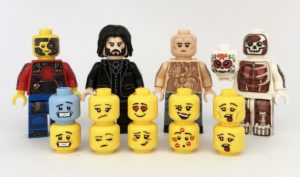 custom minifigure faces