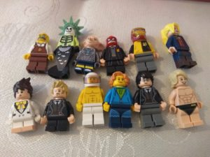 creating lego minifigs: final figures