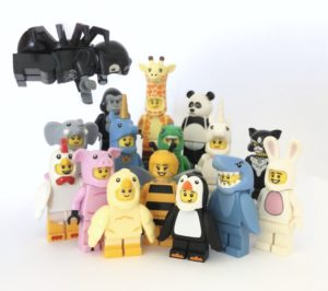 LEGO Animal Costume Minifigures