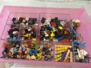creating lego minifigs: storage