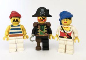 pirate minifigure faces