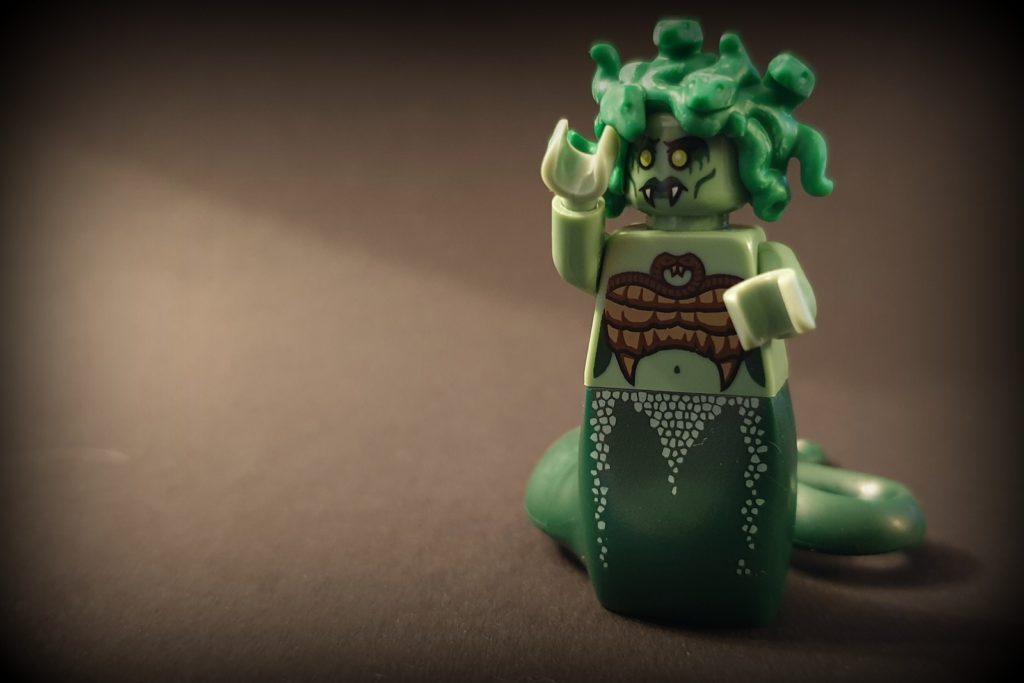 lego creatures: medusa