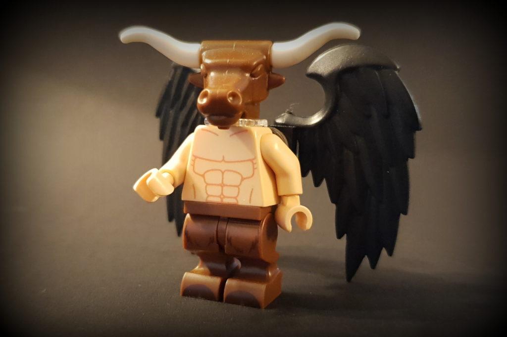 lego creatures: baphomet