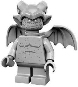 lego monsters cmf gargoyle