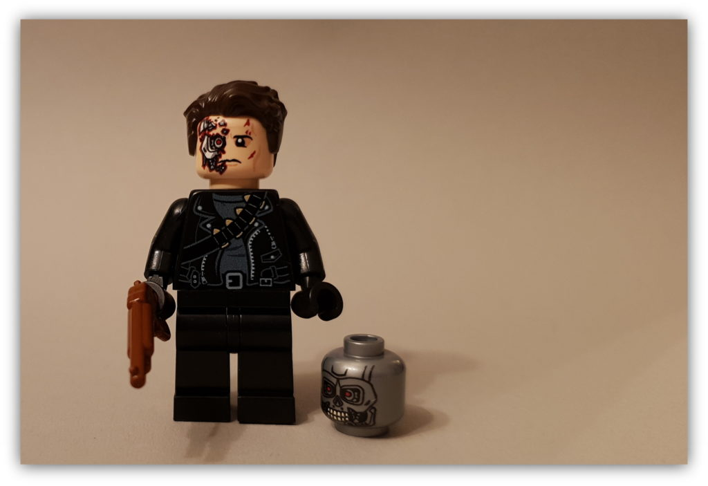 LEGO Science Fiction Minifigures custom terminator from firestartoys