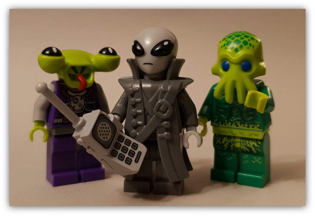 LEGO Science Fiction Minifigures aliens