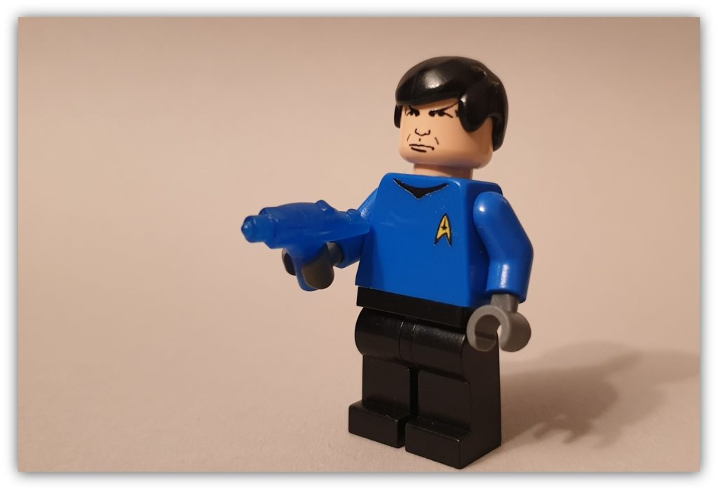 LEGO Science Fiction Minifigures custom spock