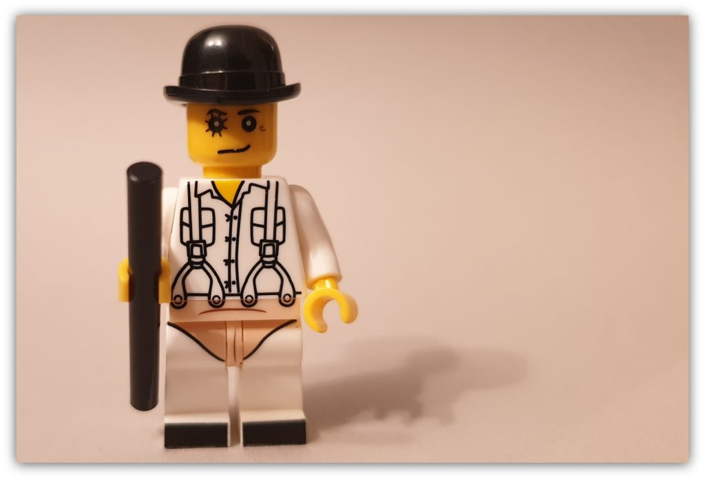LEGO Science Fiction Minifigures clockwork orange minifigure
