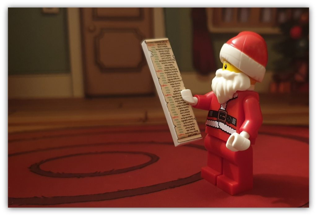 lego north pole: santa