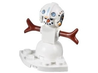 star wars advent calendar snowman