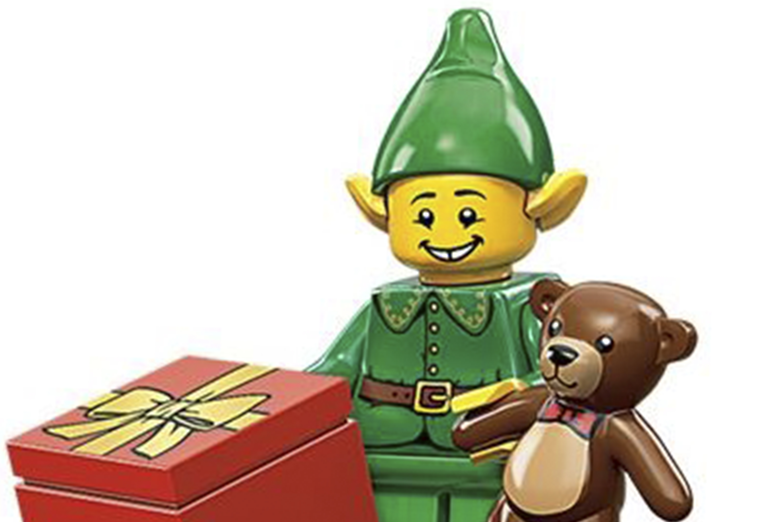 LEGO CMF Elf Minifigure