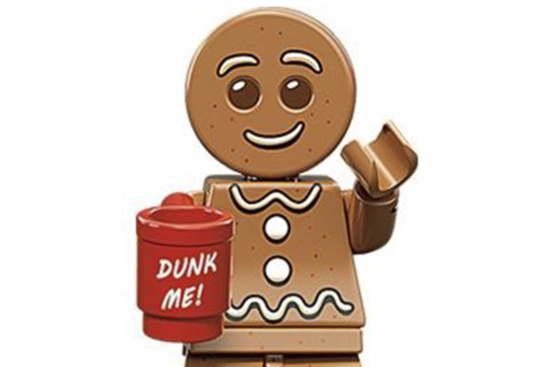 LEGO Christmas - Gingerbread Man CMF