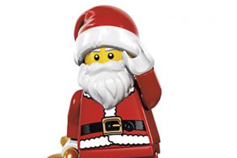 LEGO Christmas - Santa Minifigure