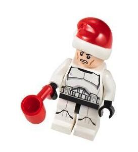LEGO Star Wars advent calendar festive stormtrooper