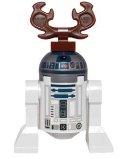LEGO Star Wars advent calendar reindeerD2
