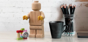 LEGO wood minifigure