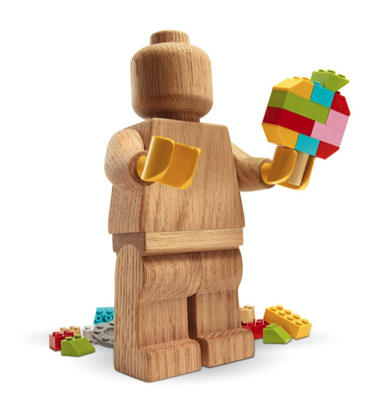 wood minifigure