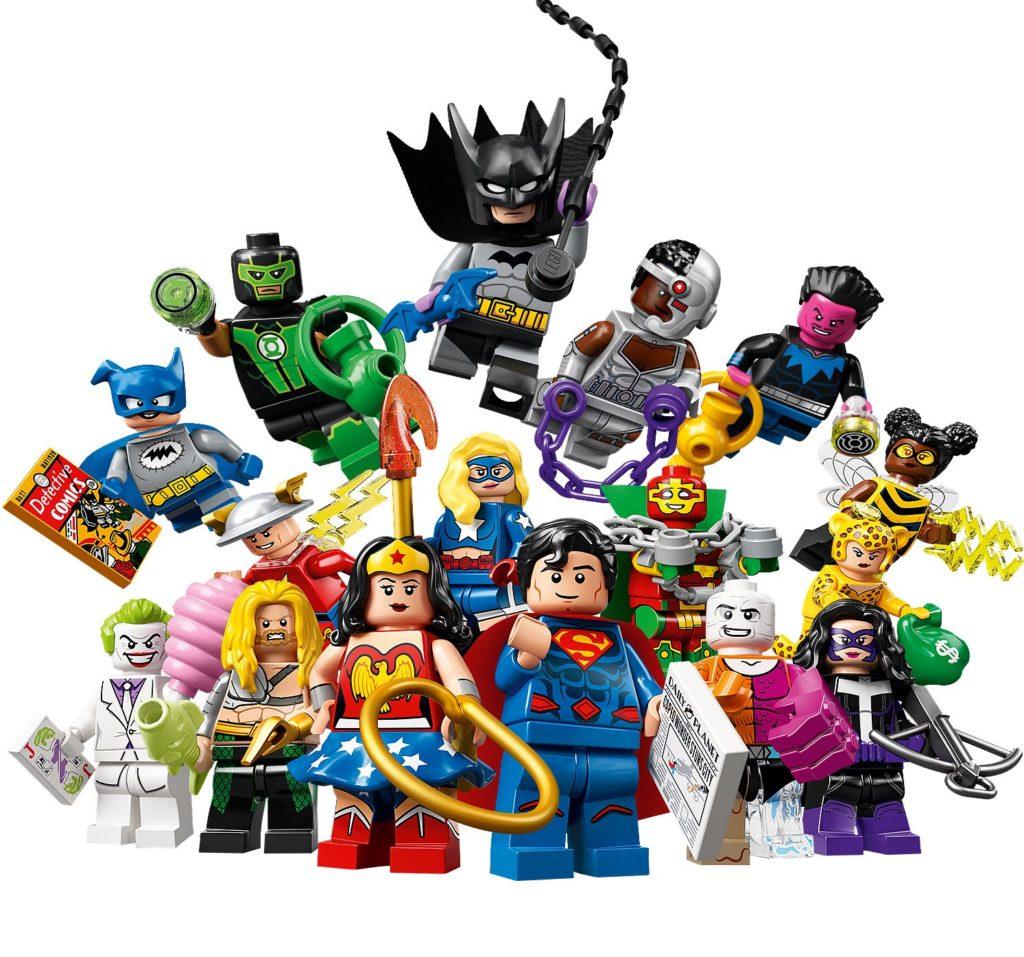 lego dc cmf series minifigures