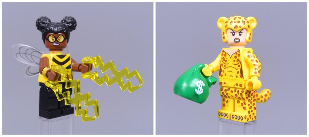 lego dc cmf bumblebee and cheetah