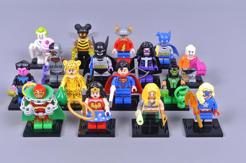 lego dc cmf minifigures