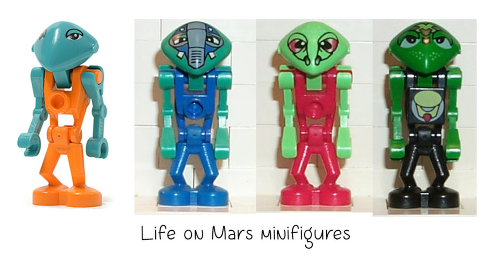 life on mars non-standard LEGO heads