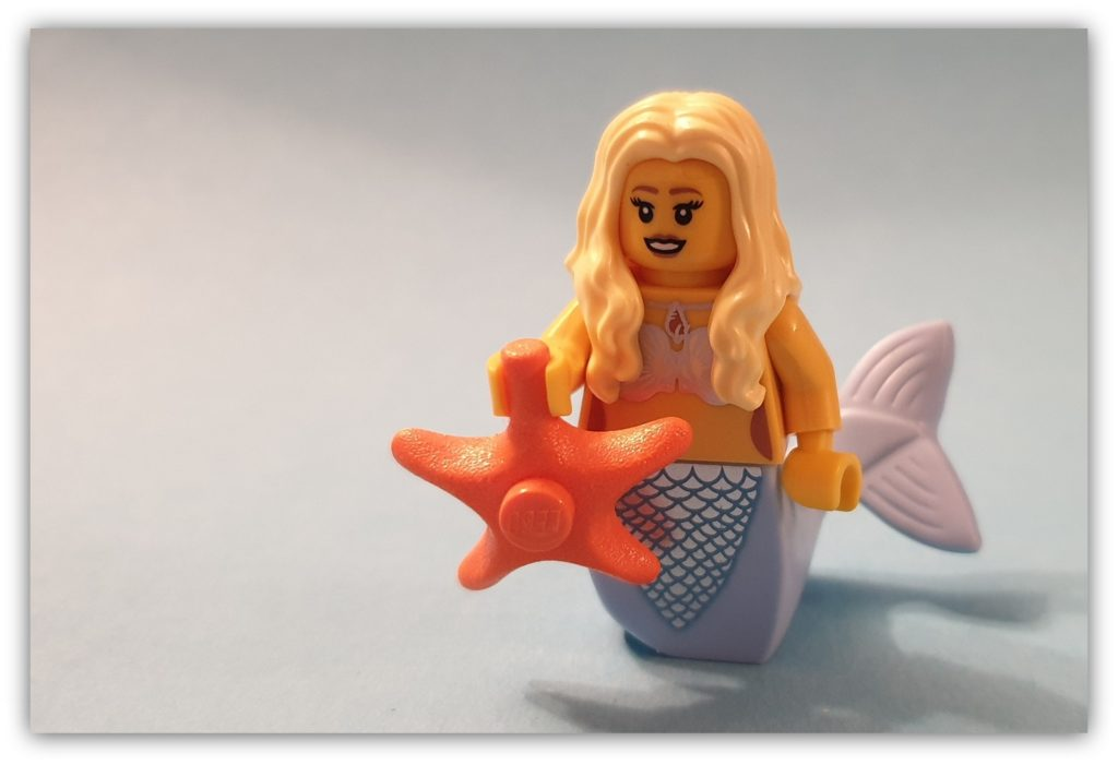 legless minifigures mermaid